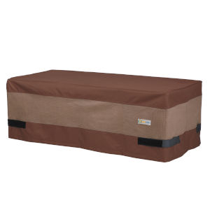 Ultimate Mocha Cappuccino 47-Inch Rectangular Patio Coffee Table Cover