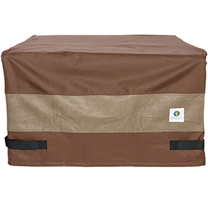 Ultimate Mocha Cappuccino 50 In. Square Fire Pit Cover