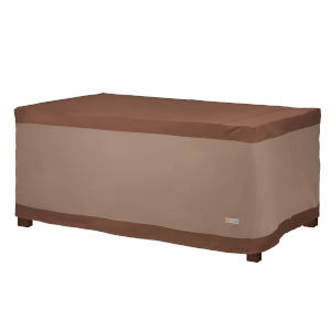 Ultimate Mocha Cappuccino 84-Inch Rectangular Patio Table Cover