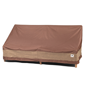 Ultimate Mocha Cappuccino 87 In. Patio Sofa Cover