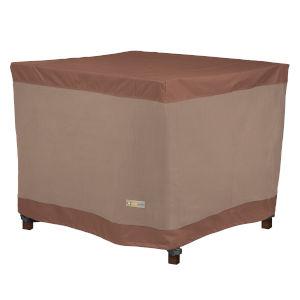 Ultimate Mocha Cappuccino 40-Inch Square Table Cover