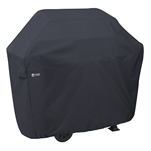 Poplar Black X-Small 40 In. x 22.5 In. Patio Grill Cover