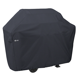 Poplar Black 72 In. x 22.5 In. X-Large Patio Grill Cover