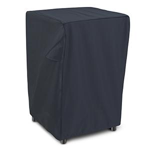 Poplar Black Square Smoker Cover