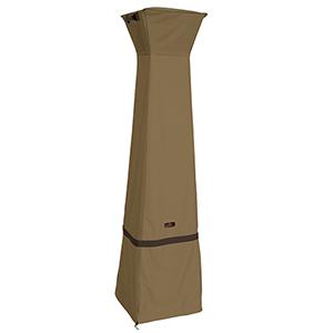 Eucalyptus Oak Heavy-Duty Pyramid Torch Patio Heater Cover