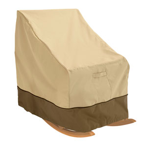 Ash Pebble and Bark Large Patio Rocking Chair Cover