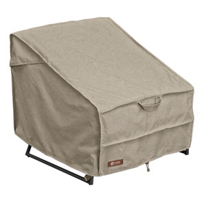 Elm Heather Grey Fade Safe Standard Patio Chair Cover