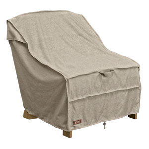 Elm Heather Grey Fade Safe Adirondack Patio Chair Cover