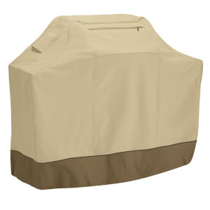Ash Beige and Brown 44-Inch BBQ Grill Cover