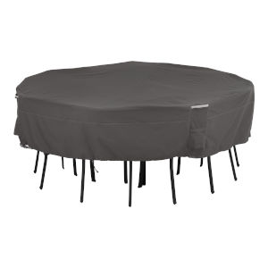 Maple Dark Taupe Square Patio Table and Chair Set Cover