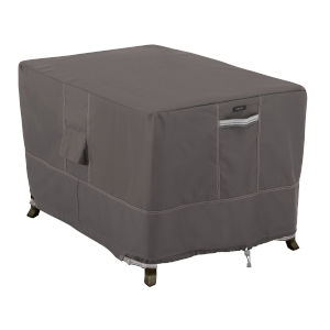 Maple Dark Taupe 40-Inch Rectangular Fire Pit Table Cover