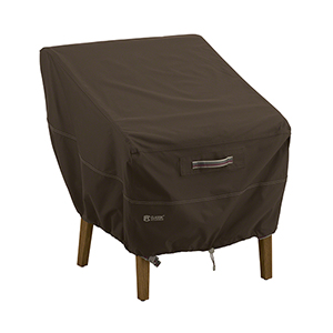 Birch Dark Cocoa RainProof Standard Patio Chair Cover
