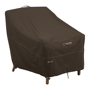 Birch Dark Cocoa RainProof Deep Seated Lounge Chair Cover