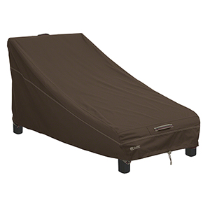 Birch Dark Cocoa RainProof Patio Day Chaise Lounge Cover