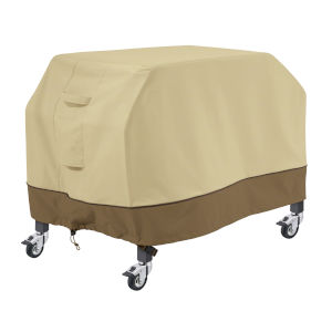 Ash Beige and Brown 45-Inch Flat Top Griddle Cover