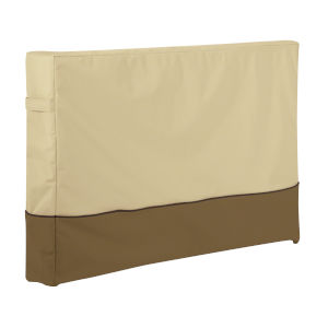 Ash Beige and Brown 51-Inch Outdoor TV Cover