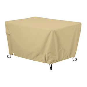 Palm Sand 56 In. Rectangular Fire Pit Table Cover