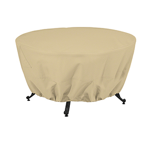 Palm Sand 42 In. Round Fire Pit Table Cover