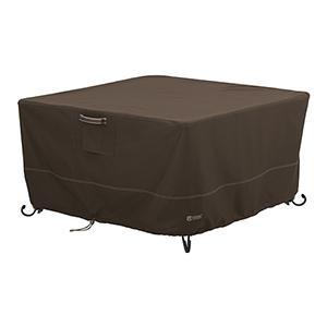 Birch Dark Cocoa RainProof Square Fire Pit Table Cover