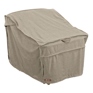 Elm Heather Grey Fade Safe Deep Seated Patio Lounge Chair Cover