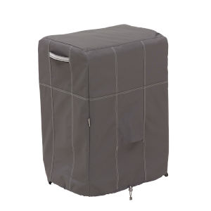 Maple Dark Taupe Square Smoker Grill Cover