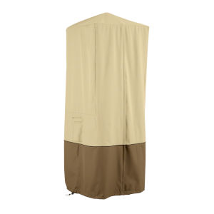 Ash Beige and Brown Patio Towel Valet Cover