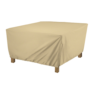 Palm Sand Small Square Coffee Table Cover
