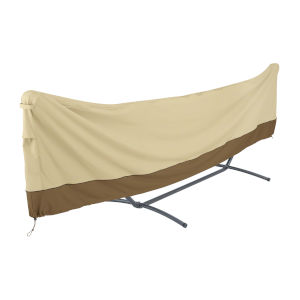Ash Beige and Brown 15 Foot Standard Brazilian Hammock and Stand Cover