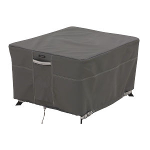 Maple Dark Taupe Square Patio Table Cover