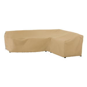 Palm Sand Patio Right Facing Sectional Lounge Set Cover