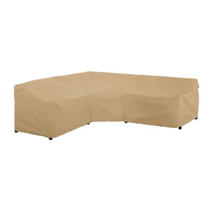 Palm Sand Patio V-Shaped Sectional Lounge Set Cover