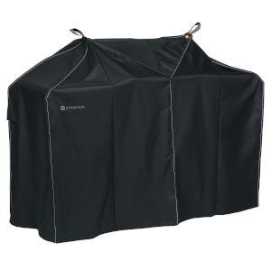 Poplar Charcoal Black 58-Inch BBQ Grill Cover