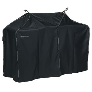 Poplar Charcoal Black 70-Inch BBQ Grill Cover