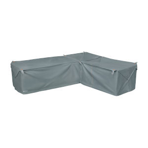 Poplar Monument Grey Patio Right Facing Sectional Lounge Set Cover