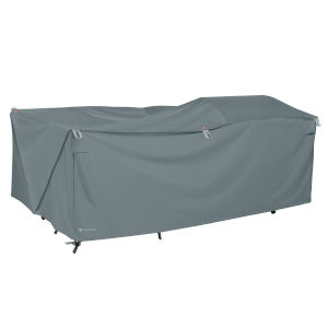 Poplar Monument Grey 100-Inch Easy Fold Patio Furniture Cover