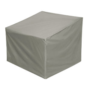 Maple Grey Lounge Chair Cover