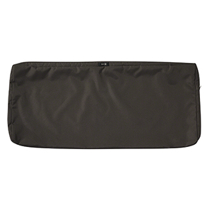 Maple Espresso 42 In. x 18 In. Patio Bench Settee Cushion Slip Cover