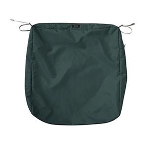 Maple Mallard Green 21 In. x 25 In. Rectangular Patio Seat Cushion Slip Cover