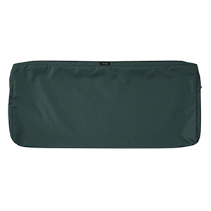 Ravenna Mallard Green 42-Inch x 18-Inch Patio Bench Settee Cushion Slip Cover
