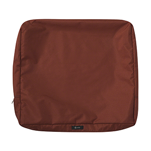 Maple Spice 25 In. x 20 In. Patio Back Cushion Slip Cover