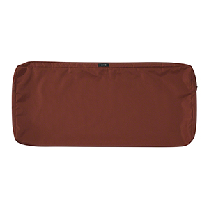 Maple Spice 42 In. x 18 In. Patio Bench Settee Cushion Slip Cover