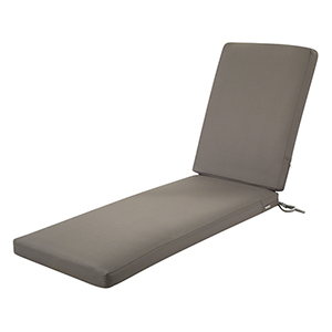 Maple Dark Taupe 72 In. x 21 In. Patio Chaise Lounge Cushion
