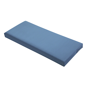 Maple Empire Blue 42 In. x 18 In. Patio Bench Settee Cushion