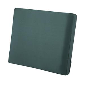 Ravenna Mallard Green 25-Inch x 20-Inch Patio Back Cushion