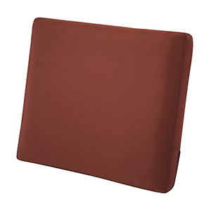 Maple Spice 25 In. x 22 In. Patio Back Cushion
