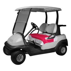 Cypress Pink Golf Car Seat Blanket