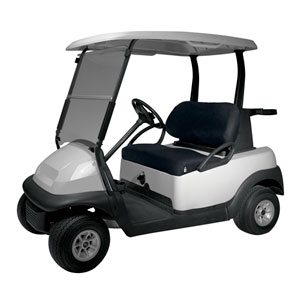 Fairway Golf Car Seat Cover Diamond Air Mesh, Black