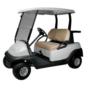 Cypress Khaki Diamond Air Mesh Golf Car Seat Cover