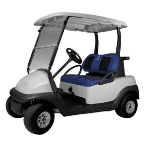 Fairway Golf Car Set Cover Neoprene Paneled, Navy