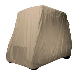 Fairway Golf Car Cover, Long Roof, Khaki